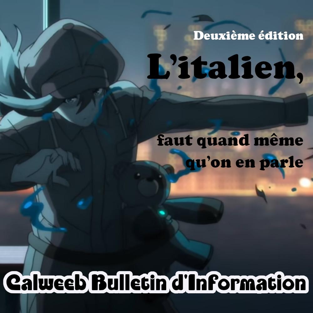 Calweeb Bulletin d'Information #2